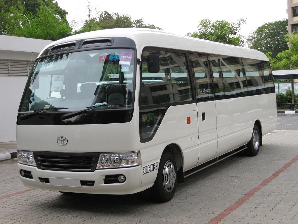 minibus rental singapore