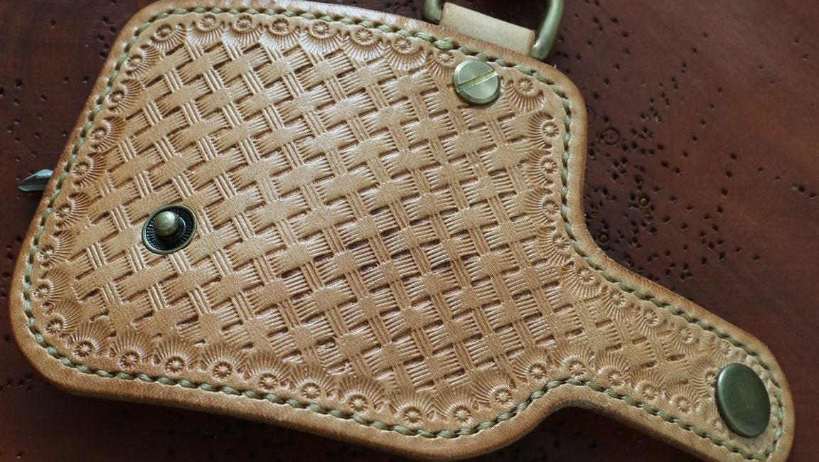 stamping leather
